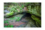 Mammoth Cave, Kentucky - Cave Entrance 2 Art by  Lantern Press