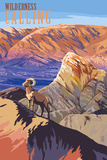 Wilderness Calling - National Park WPA Sentiment Lámina giclée premium por  Lantern Press