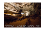 Mammoth Cave, Kentucky - Cave Interior Posters by  Lantern Press