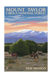 Cibola National Forest, New Mexico - Mount Taylor Prints by  Lantern Press