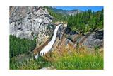Yosemite National Park, California - Nevada Falls Art by  Lantern Press