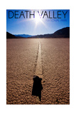 Death Valley National Park - Racetrack at Day Prints by  Lantern Press