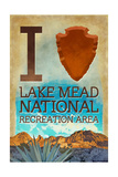 I Heart Lake Mead National Recreation Area Posters by  Lantern Press