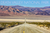 Death Valley National Park - Road Posters by  Lantern Press