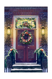 Christmas Door Posters by  Lantern Press