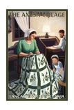 Lancaster County, Pennsylvania - Farm Scene - Quilting Scene Prints by  Lantern Press