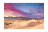 Death Valley National Park - Mesquite Dunes Prints by  Lantern Press