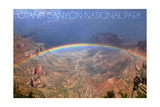 Grand Canyon National Park - Rainbow Posters by  Lantern Press