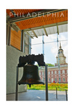 Philadelphia, Pennsylvania - Liberty Bell Art by  Lantern Press