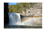 Fall Creek Falls State Park, Tennessee - Cane Creek Falls Posters by  Lantern Press