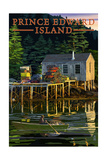 Prince Edward Island - Lobster Shack Posters by  Lantern Press