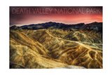 Death Valley National Park - Stormy Sky Art by  Lantern Press