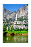 Yosemite National Park, California - Yosemite Falls Poster by  Lantern Press