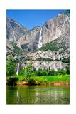 Yosemite National Park, California - Yosemite Falls Poster by  Lantern Press