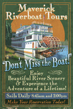 Riverboat - Vintage Sign Posters by  Lantern Press