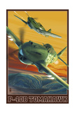 P-40B Tomahawks Posters by  Lantern Press