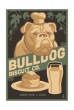 Bulldog - Retro Bisquit Ad Posters by  Lantern Press