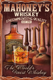 Whiskey - Vintage Sign Posters by  Lantern Press