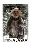 Sitka, Alaska - Bear Standing in Snow Posters by  Lantern Press