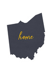 Ohio - Home State - White Posters by  Lantern Press