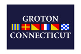 Groton, Connecticut - Nautical Flags Posters by  Lantern Press