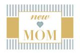 New Mom - Blue Prints by  Lantern Press