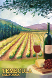 Temecula, California - Wine Country Print by  Lantern Press