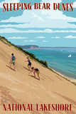 Michigan - Sleeping Bear Dunes Prints by  Lantern Press