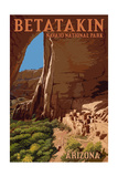 Betatakin National Monument, Arizona Prints by  Lantern Press