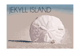 Jekyll Island, Georgia - Sand Dollar Posters by  Lantern Press