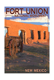 New Mexico - Fort Union National Monument Poster by  Lantern Press