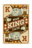 King Card Posters by  Lantern Press