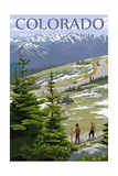 Colordao - Trail Ridge Road Posters by  Lantern Press