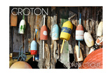 Groton, Connecticut - Buoys Posters by  Lantern Press