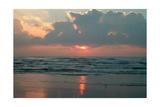 Ocean at Dawn Print by  Lantern Press