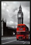 Londres - Autobús rojo Póster