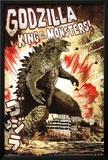 Godzilla - King Print