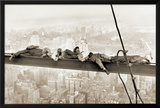 Men on Girder, 1930 Photo