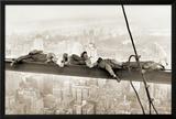 Obreros sentados en la viga, 1930 Pósters