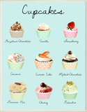 Cupcake Variety Wood Sign