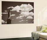 Liberty in the Clouds Wall Mural by John Brooknam