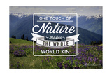 John Muir - One Touch of Nature Prints by  Lantern Press