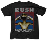 Rush- Power Windows T-shirts