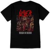 Slayer- Reign In Blood Camisetas