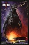 Godzilla - Airport Print