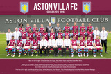 Aston Villa- Team 15/16 Poster