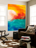 Marsh Sunrise II Wall Mural by Alicia Ludwig