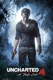 Uncharted 4- A Thiefs End Plakater