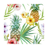 Tropical Pattern Prints by  Zenina