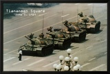 Plaza Tiananmen Póster